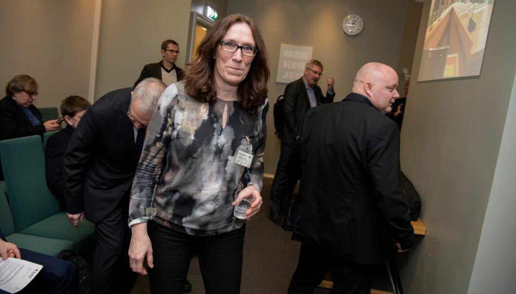 Fornøyd. Hilde Flobergseter i «Bevar Andøya flystasjon» var fornøyd med at det ble høring om grunnlaget for nedleggelse av Andøya flystasjon.