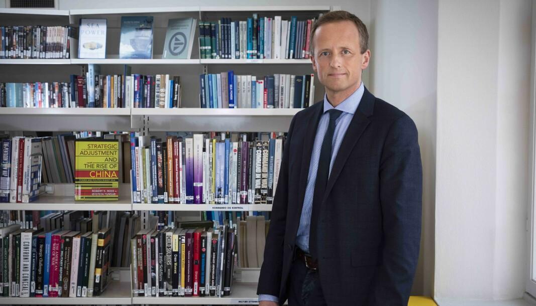 HØGSKOLEN: Kjell Inge Bjerga (bildet) mener Tormod Heier må snakke med forskerne ved Forsvarets høgskole han bidrar til å «stigmatisere» .