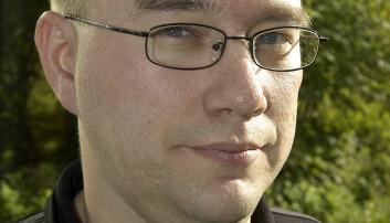 Forbundsleder i NOF, Torbjørn Bongo.