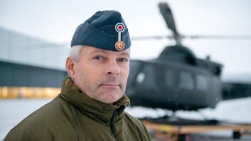 Kaptein Geir Brandsegg, tillitsvalgt i Norges Offisersforbund (Foto: Torbjørn Løvland/Forsvarets forum).