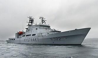 Én person bekreftet smittet på kystvaktskipet Andenes