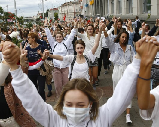 FN fordømmer politivold i Hviterussland
