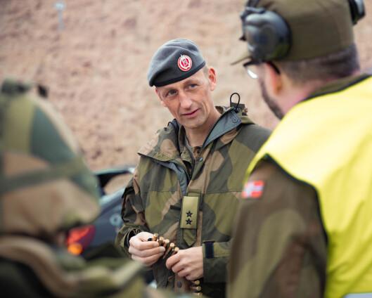 Ny forsvarssjef på trappene: Vil ha deler av Forsvarets ledelse nordover