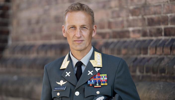 Påtroppende forsvarssjef Eirik Kristoffersen.