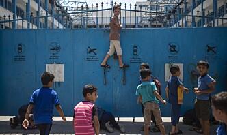 Israel angrep FN-skole på Gazastripen