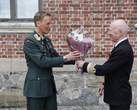 Ny gest innføres under dette forsvarssjefbyttet