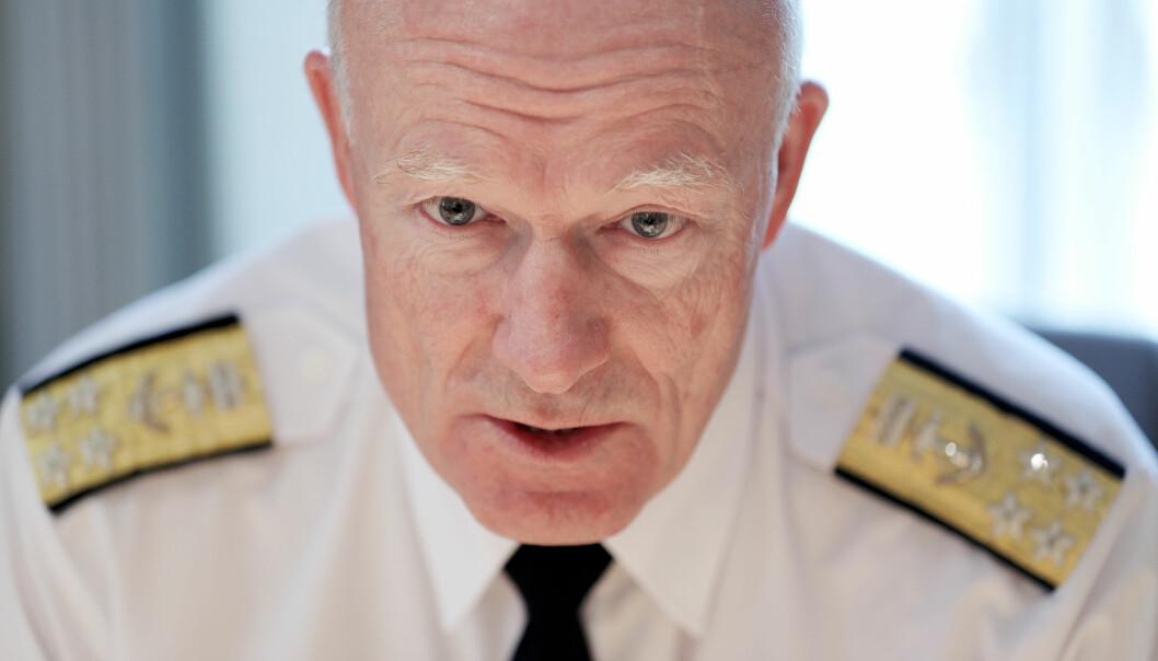 Torbjørn Kjosvold har fulgt forsvarssjef Haakon Bruun-Hanssen tett siden 2013.