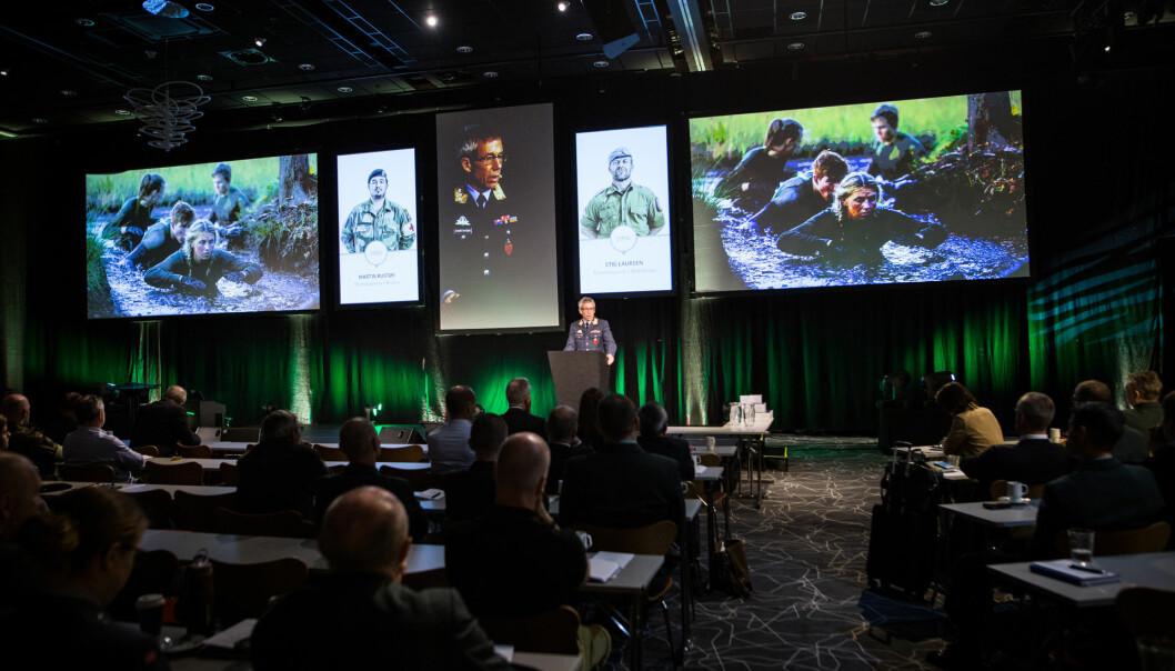 Veterankonferansen flyttes hvert år til en ny kommune. Her fra Stavanger i 2016.