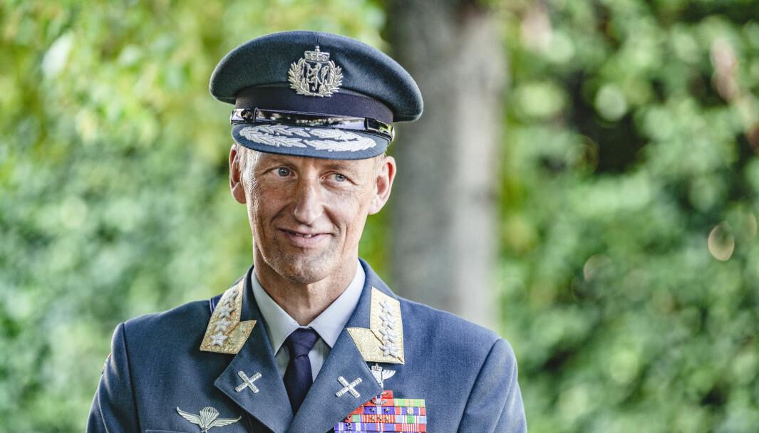 Eirik Kristoffersen ble ny forsvarssjef 17. august. Ti dager senere lanserer han boka «Jegerånden».