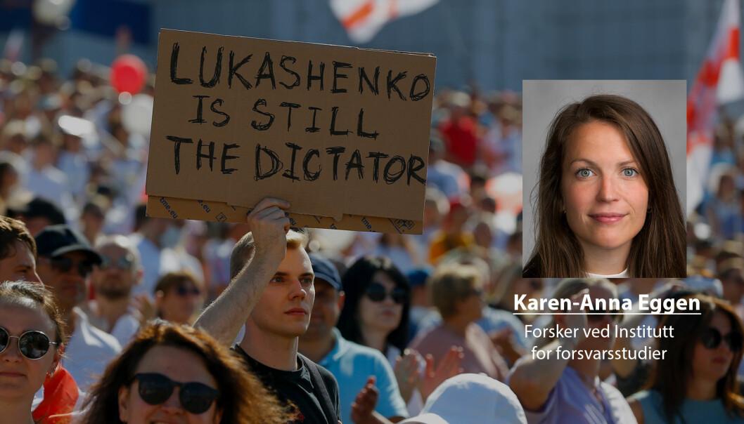Det er større styrke i protestene mot Hviterusslands president Aleksandr Lukasjenko nå enn tidligere, skriver Karen-Anna Eggen.