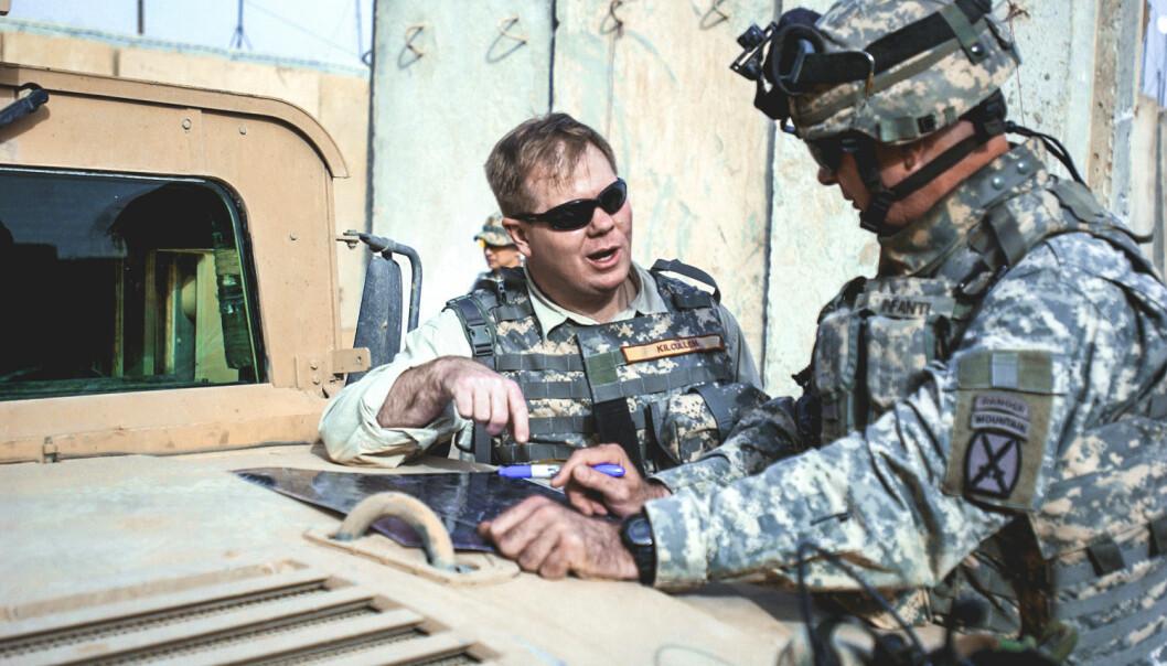 David Kilcullen på besøk i Afghanistan.
