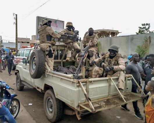 Malis president har kunngjort sin avgang