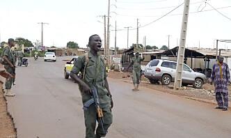 Meldinger om militærkupp i Mali: Norske soldater jobber med å få oversikt
