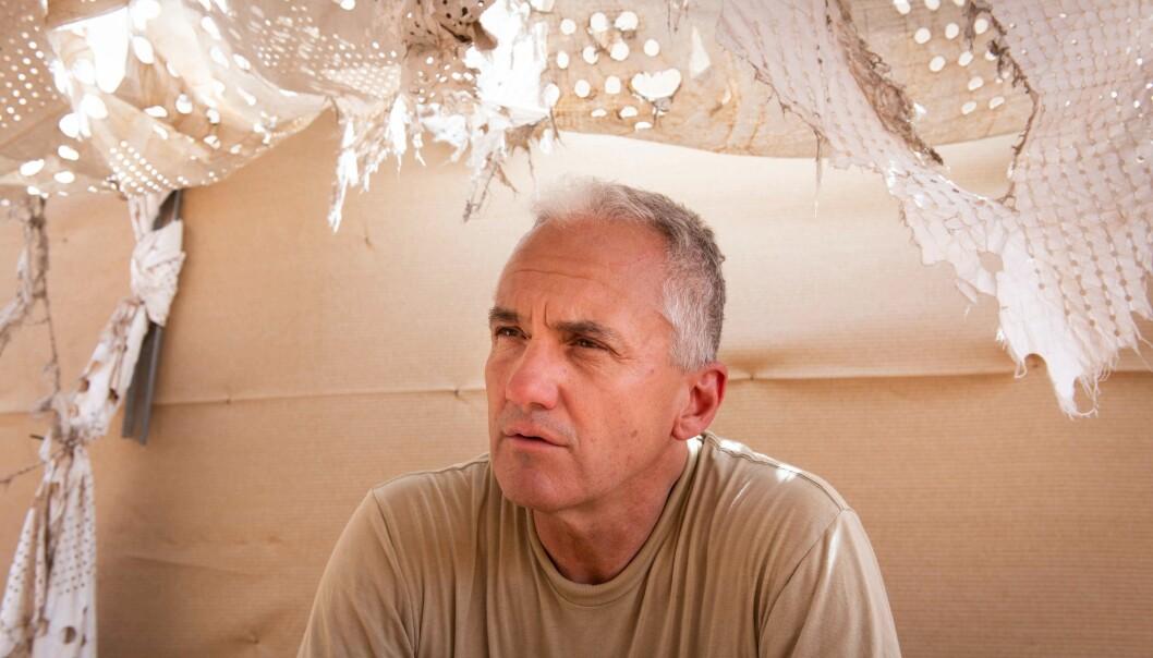 Sjefen for det svenske etterretningbidraget i Timbuktu, oberstløytnant Dan Hagman.