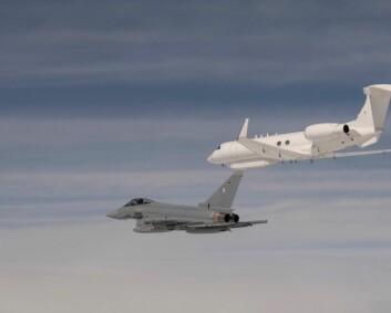 Israelske fly øver i Tyskland