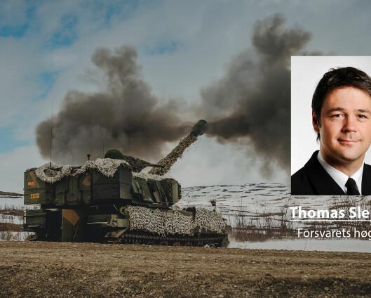 Fra kanonkuler til missiler