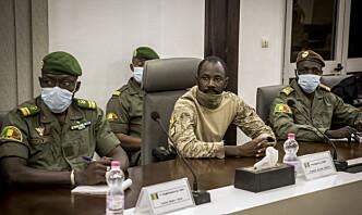Juntaen i Mali vil ha tre års militærstyre – vil ha soldater i de fleste regjeringsrollene