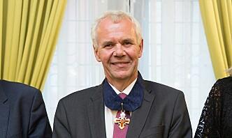 Kongens fortjenstorden til Svein Mykkeltveit