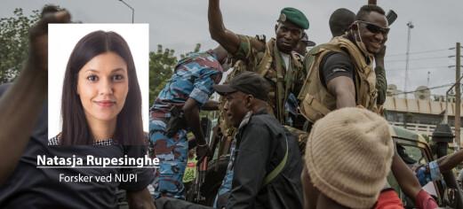 Statskupp i Mali: – Står foran en vanskelig tid