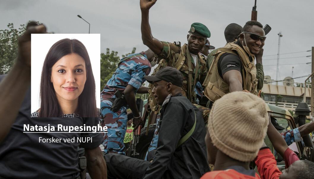 – Å fortsette som før vil sannsynligvis ikke forbedre situasjonen, skriver Natasja Rupesinghe om utviklingen i Mali etter statskuppet.