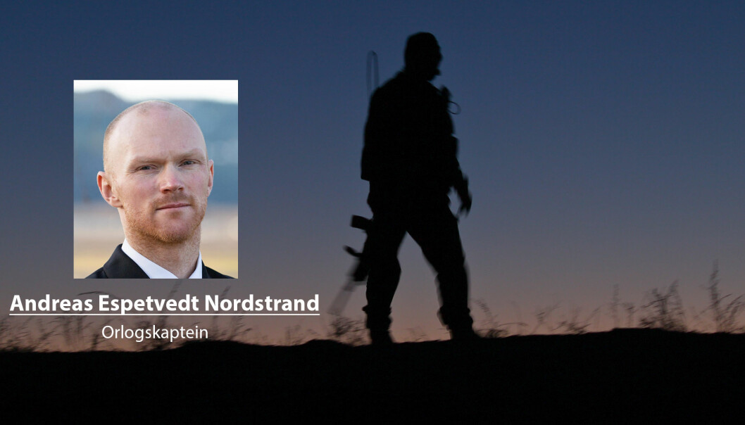 Det viktig at veteraner får ryggdekning for de handlingene han eller hun utførte i sin tjeneste, skriver Andreas Espetvedt Nordstrand.