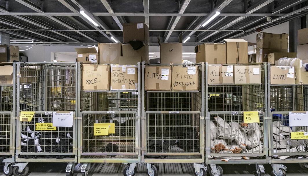 Depot på Bardufoss under årets innrykk – som var et av de beste på fire år når det gjelder PBU, ifølge FLO RLL Nord.