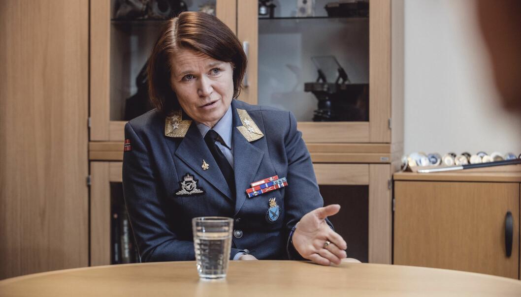 Marginene som skilte hendelsen fra en katastrofal ulykke, var meget små, står det i merknadene til sjefen for Luftforsvaret, Tonje Skinnarland.