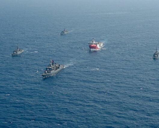 Tyskland mener Nato-landene Hellas og Tyrkia leker med ilden