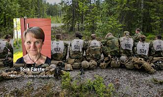 – Etterlever Forsvarets kjerneverdier