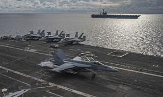 Kina anklager USA for å ha brutt flyforbudssone
