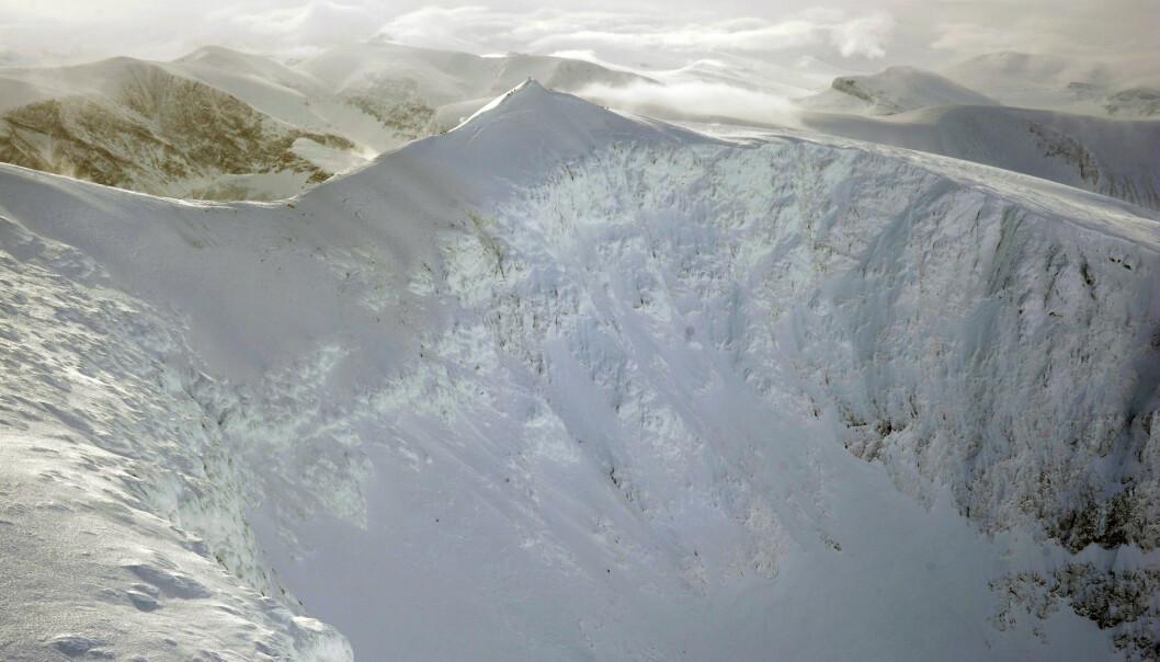 I 2012 krasjet et Hercules-fly i Sveriges høyeste fjell, Kebnekaise. Fem omkom.