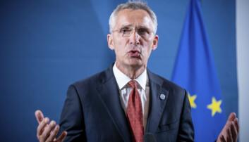 Nato-sjef Jens Stoltenberg avholder forsvarsministermøte i Nato torsdag og fredag.