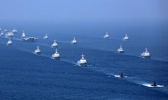 Kina skjøt raketter ut i Sør-Kinahavet