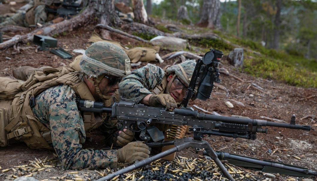 Amerikanske soldater har de siste årene vært stasjonert i Trøndelag og Troms