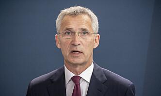 Stoltenberg: Russland bør ikke gripe inn i Hviterussland