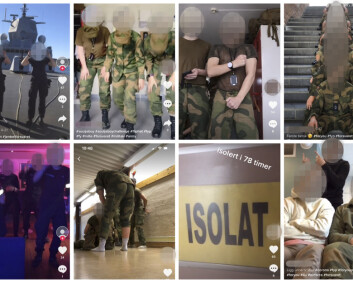 Norske soldater på TikTok - Forsvaret vil hverken forby eller fraråde bruk