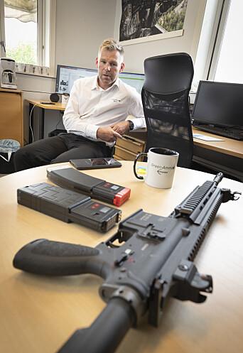 Steffen Botten har utviklet systemet som kalles E-blanks.