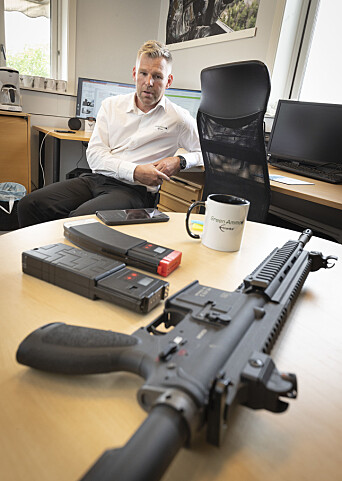 Steffen Botten er gründer og oppfinneren av E-blanks.