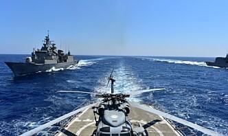 Tyrkia advarer mot krig om Hellas utvider territorialfarvannet