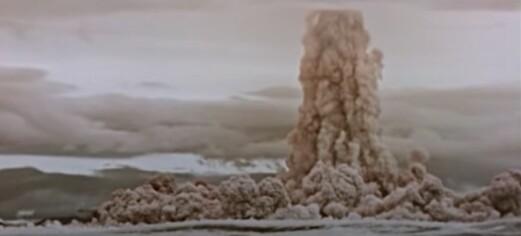 Hemmeligstemplet video om historiens største kjernefysiske eksplosjon frigitt