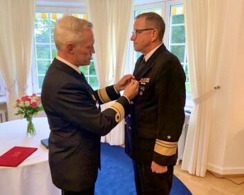 Tysk viseadmiral tildelt hederskorset