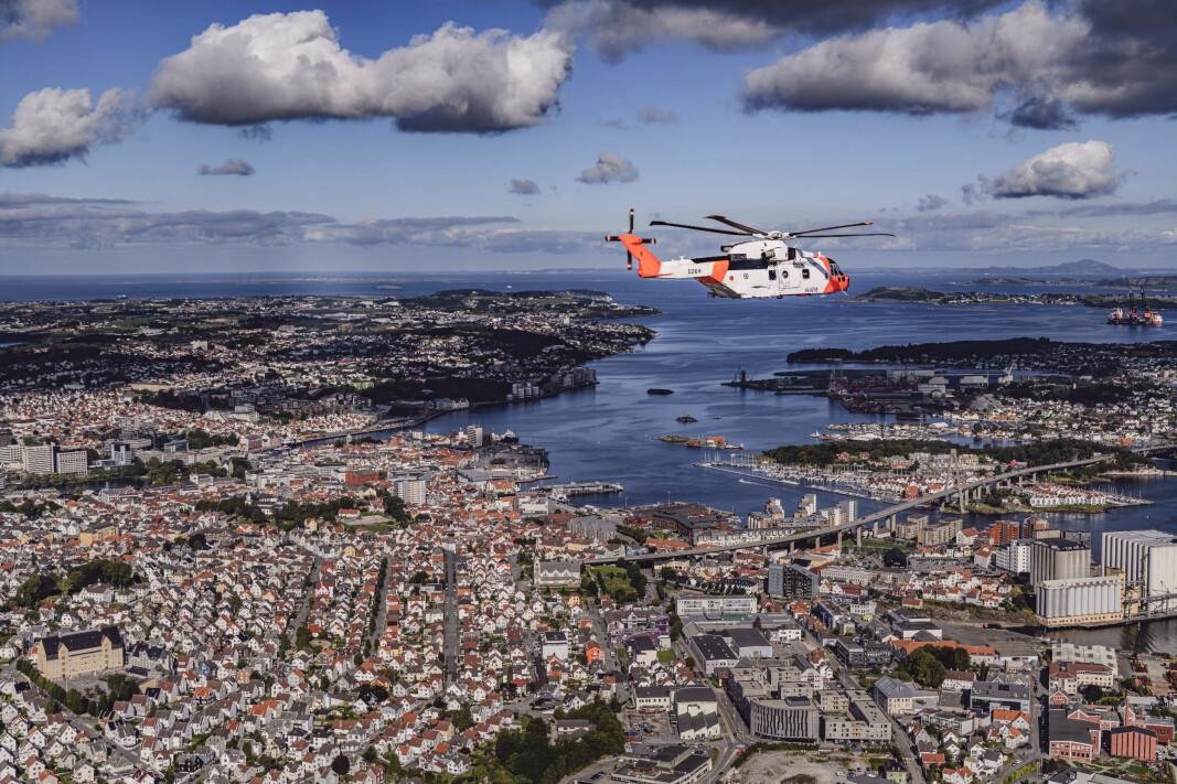 Norges nye redningshelikoptre «SAR Queen» ble satt i beredskap 1. september 2020.