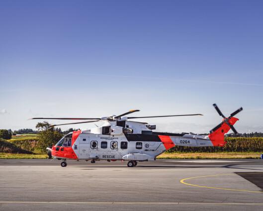 Milliardsprekk for nye redningshelikoptre