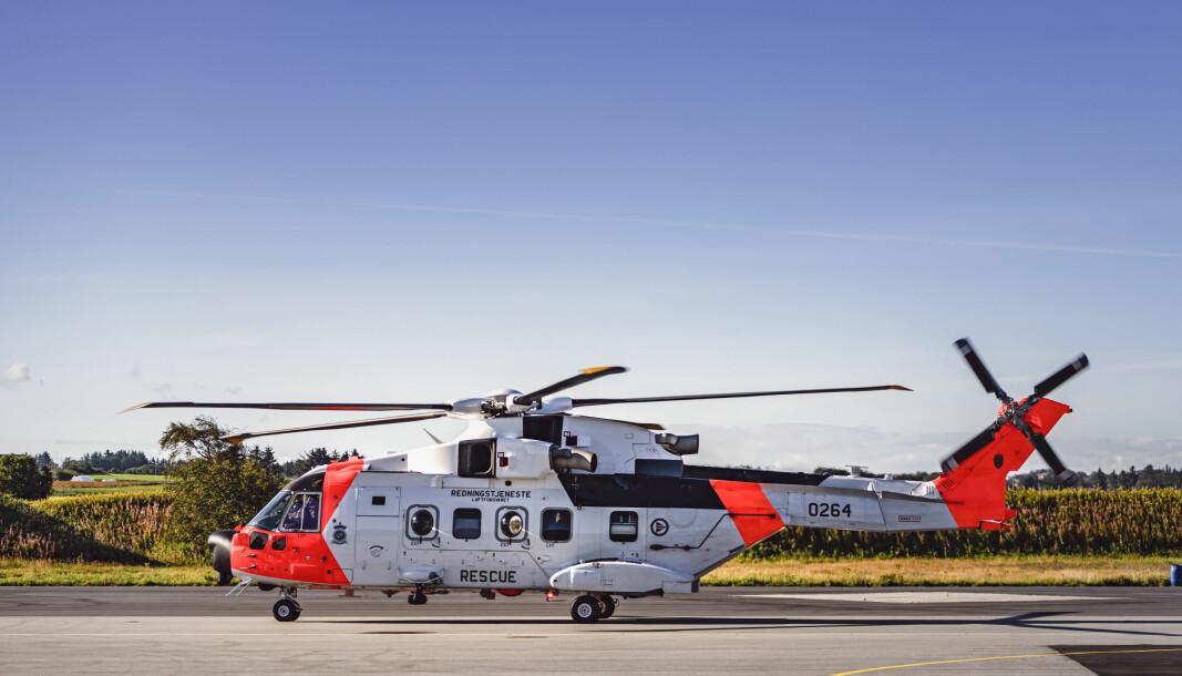 KOSTBAR: De nye redningshelikoptrene SAR Queen blir dyrere enn tidligere anslått, viser revidert nasjonalbudsjett.