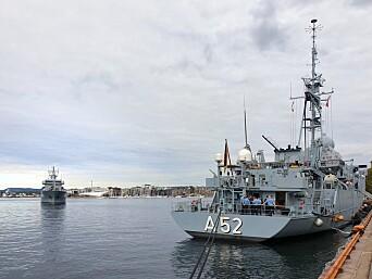 Også to andre tyske skip var på flåtebesøk i Oslo fredag 28. august.