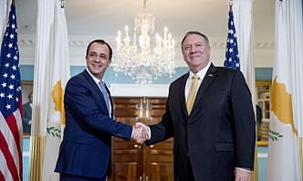 USA vil tillate salg av ikke-dødelige våpen til Kypros