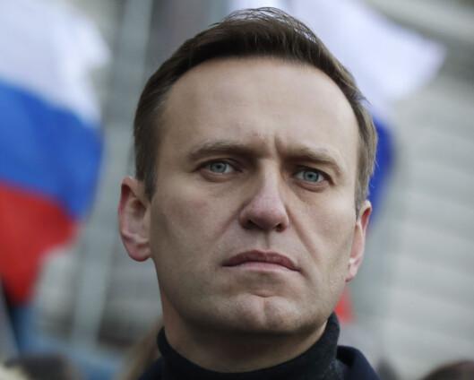Navalnyj hevder Putin sto bak giftangrepet mot ham