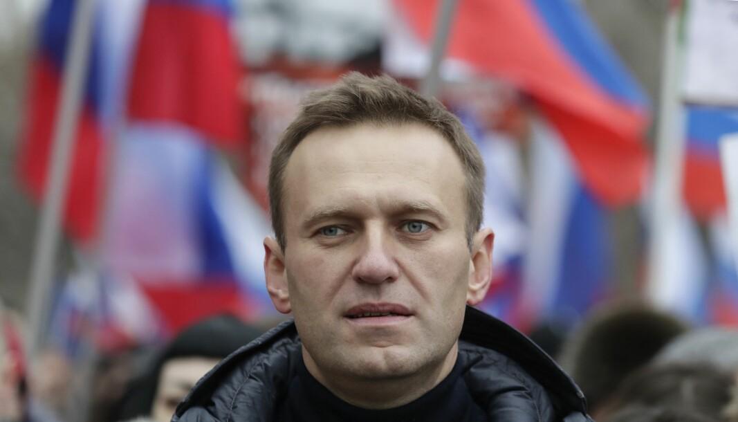 ALVORLIG SYK: Den tyske regjeringen sier det foreligger bevis på at Aleksej Navalnyj ble forgiftet.