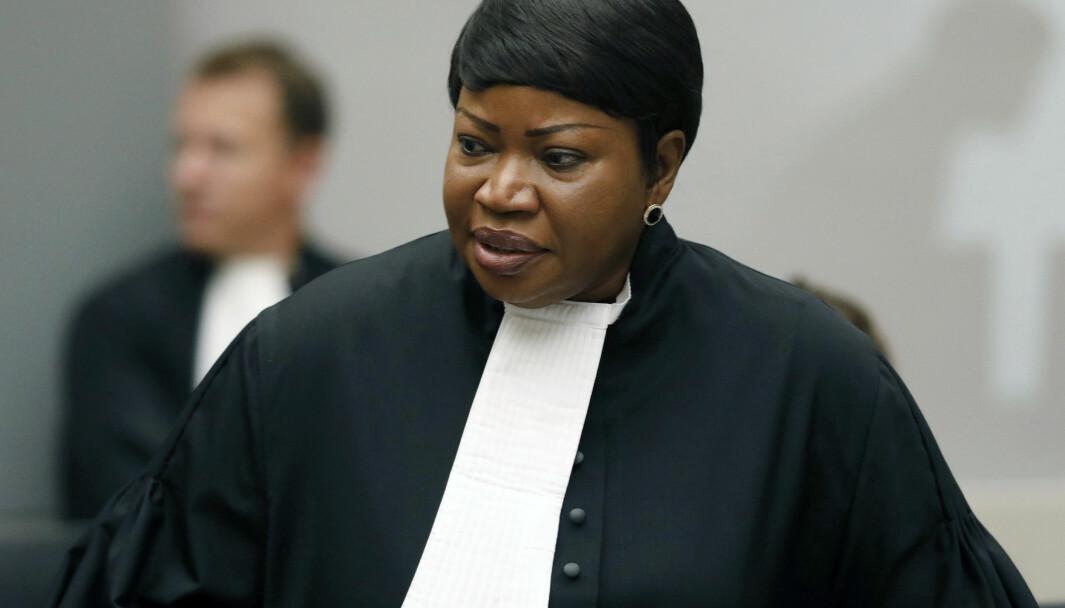 KRITISK: USA innfører sanksjoner mot sjefanklager Fatou Bensouda i Den internasjonale straffedomstolen (ICC).