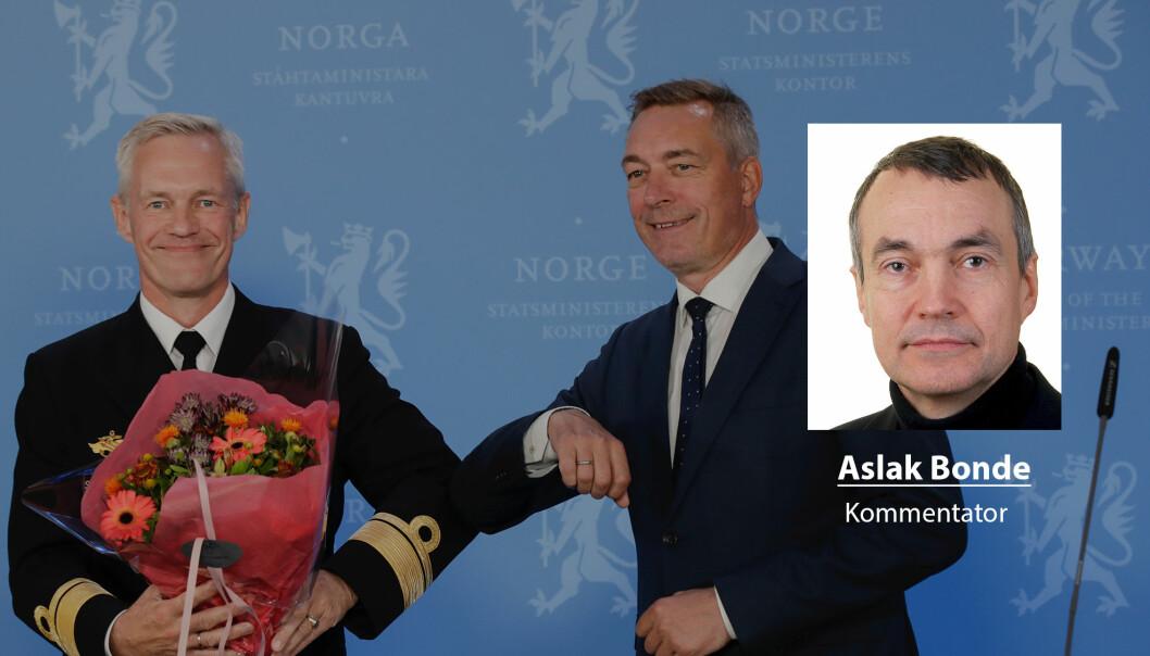 Nils Andreas Stensønes er ny sjef for E-tjenesten. Da er han avhengig av tillit, skriver Aslak Bonde.